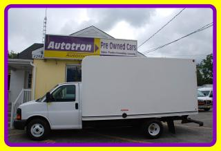 Used 2012 Chevrolet G3500 1 Ton 16' Cube, Ramp, A/C for sale in Woodbridge, ON
