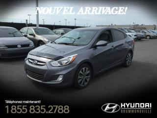 Used 2016 Hyundai Accent SE BERLINE + GARANTIE + TOIT + MAGS + WO for sale in Drummondville, QC
