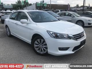 Used 2014 Honda Accord EX-L V6 | LEATHER | ROOF | HEATED SEATS for sale in London, ON