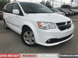 Used 2017 Dodge Grand Caravan Crew | LEATHER | CAM | ONE OWNER for sale in London, ON
