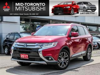 Used 2017 Mitsubishi Outlander GT AWD|7 PSGR|Leather|Sunroof|Camera for sale in York, ON