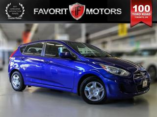 Used 2013 Hyundai Accent GL, Heated Seats, USB/AUX ports for sale in North York, ON
