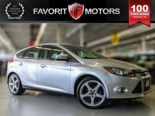 Used 2012 Ford Focus Titanium, Leather, Backup Camera, Sunroof for sale in North York, ON