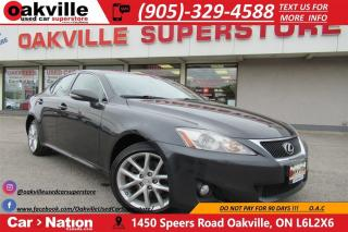 Used 2011 Lexus IS 250 AWD | LEATHER | NAVI | SUNROOF | REVERSE CAMERA for sale in Oakville, ON