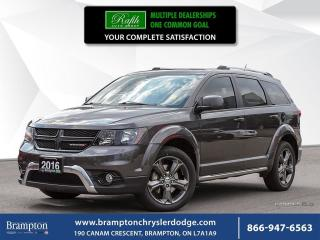 Used 2016 Dodge Journey CROSSROAD | AWD | TRADE-IN | for sale in Brampton, ON