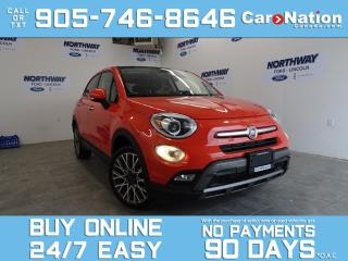 Used 2016 Fiat 500 X TREKKING | LEATHER | SUNROOF | BLUETOOTH for sale in Brantford, ON