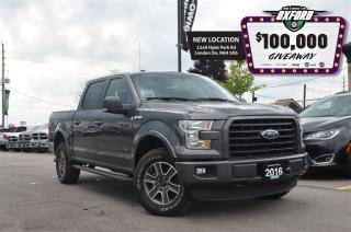Used 2016 Ford F-150 XLT - 4x4, EcoBoost, GPS, Parksense for sale in London, ON