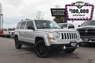 Used 2013 Jeep Patriot North Altitude - 4x4, Sunroof, Bluetooth, Heated S for sale in London, ON