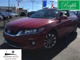 Used 2013 Honda Accord Cpe EX-L/Navigation-Local trade for sale in North York, ON