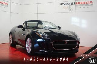 Used 2016 Jaguar F-Type CONVERTIBLE + 19'' + CUIR CIRRUS + PRIX for sale in St-Basile-le-Grand, QC