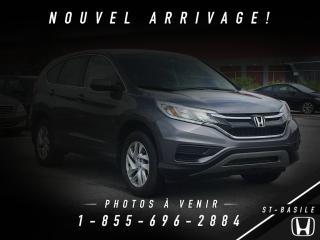 Used 2015 Honda CR-V SE AWD + GARANTIE HONDA + CAMÉRA DE RECU for sale in St-Basile-le-Grand, QC