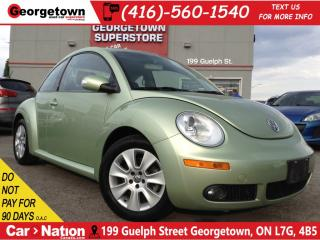 Used 2008 Volkswagen New Beetle 2.5L Trendline | LEATHER | SUNROOF | LOW KM | for sale in Georgetown, ON