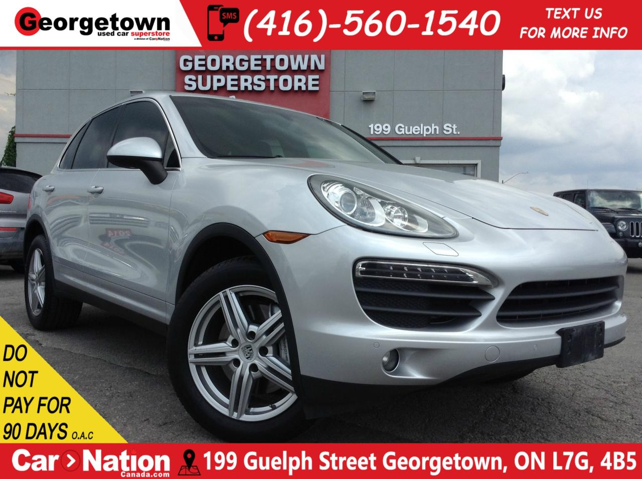 Used 2011 Porsche Cayenne S   NAVI   SUNROOF   LEATHER   AWD   for ...