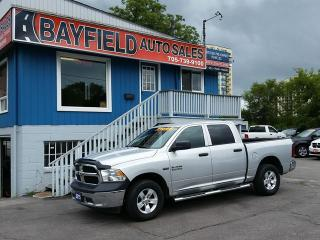 Used 2015 RAM 1500 ST Crew Cab 4x4 **5.7L HEMI/Remote/Alloys** for sale in Barrie, ON