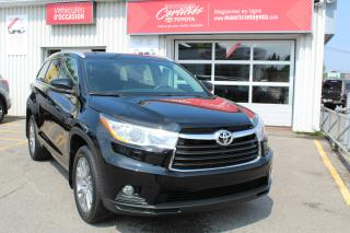 Used 2016 Toyota Highlander Traction intégrale 4 portes XLE for sale in Shawinigan, QC