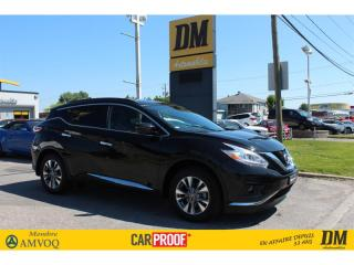 Used 2016 Nissan Murano SV TOIT PANORAMIQUE NAVIGATION CAMERA RECUL DEMAR. for sale in Salaberry-de-Valleyfield, QC