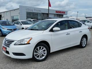 Used 2014 Nissan Sentra SV w/NAV,rear cam,power moonroof,heated seats for sale in Cambridge, ON
