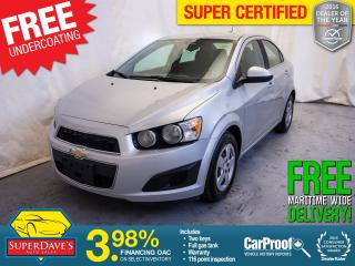 Used 2015 Chevrolet Sonic for sale in Dartmouth, NS