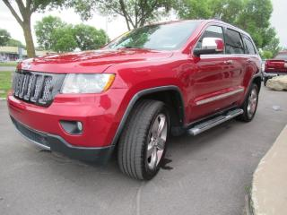 Used 2011 Jeep Grand Cherokee Overland for sale in Dollard-des-Ormeaux, QC