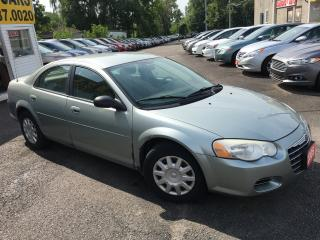 Used 2005 Chrysler Sebring AUTO/ POWER GROUP/ RUNS WELL for sale in Scarborough, ON