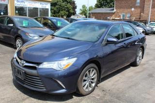 Used 2015 Toyota Camry XLE Leather Sunroof Nav for sale in Brampton, ON