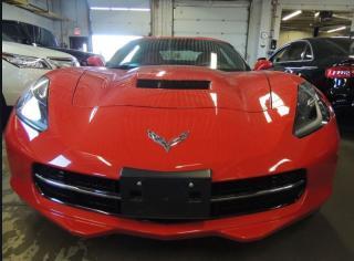 Used 2016 Chevrolet Corvette 3LT STINGRAY, 3LT, NAVI, HUD, FRONT AND BACK CAMER for sale in Mississauga, ON