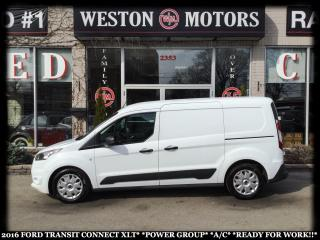 Used 2016 Ford Transit Connect XLT*POWER GROUP*A/C*READY FOR WORK!!* for sale in Toronto, ON