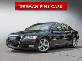 Used 2009 Audi A8 L 4.2L QUATTRO*NAVIGATION, BACK UP CAMERA* for sale in Bolton, ON