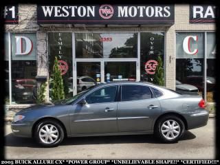 Used 2005 Buick Allure CX*POWER GROUP*UNBELIEVABLE SHAPE!!*CERTIFIED!!* for sale in York, ON