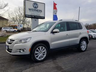 Used 2009 Volkswagen Tiguan Highline for sale in Cambridge, ON