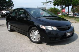 Used 2009 Honda Civic DX-G for sale in Mississauga, ON