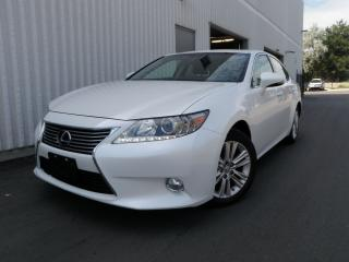 Used 2014 Lexus ES 350 PREMIUM ROOF LEATHER CAMERA LEXUS WARRANTY CLEAN C for sale in Toronto, ON