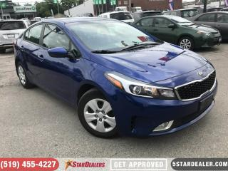 Used 2017 Kia Forte LX+   ONE OWNER   CAM   HEATED SEATS for sale in London, ON