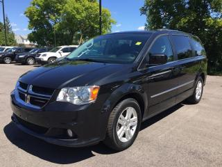 Used 2017 Dodge GRAND CARAVAN CREW * REAR A/C WITH STOW N GO * 7 PASS * LOW KM for sale in London, ON