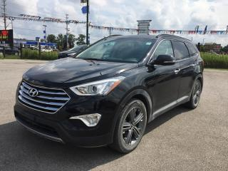 Used 2016 Hyundai SANTA FE XL LIMITED * AWD * 1 OWNER * LEATHER * NAV * REAR CAM * PANO ROOF * 7 PASS * HEATED SEATS for sale in London, ON