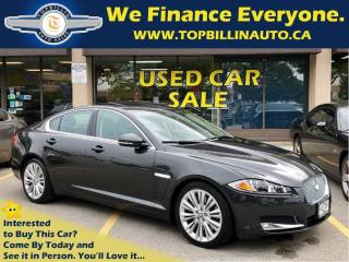 Used 2012 Jaguar XF Portfolio, Low Kilometers, Clean Carproof for sale in Concord, ON