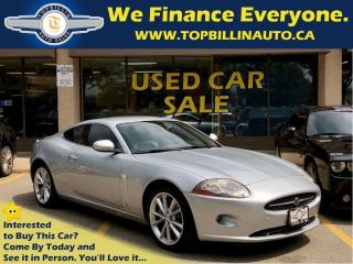 Used 2007 Jaguar XK Low Kilometers, Clean Carproof for sale in Concord, ON