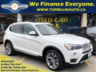 Used 2017 BMW X3 xDrive28i Navi, Roof, Backup Cam, HUD for sale in Concord, ON