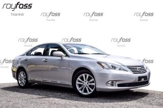 Used 2011 Lexus ES 350 ES350 Fwd Nav Leather Roof for sale in Thornhill, ON