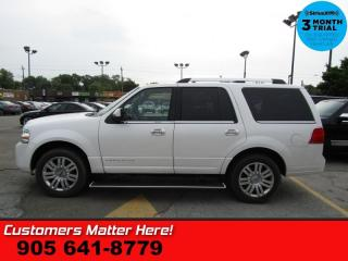 Used 2013 Lincoln Navigator Base  4X4 8-PASS NAV ROOF (NEW TIRES) COOLED-SEATS PWR-BOARDS for sale in St Catharines, ON