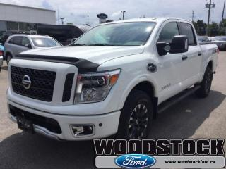 Used 2017 Nissan Titan LOCAL TRADE 5 YEAR 160KM WARRANTY for sale in Woodstock, ON
