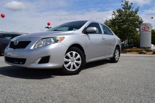 Used 2009 Toyota Corolla PL/AC/AUTO for sale in Coquitlam, BC
