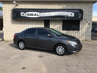Used 2010 Toyota Corolla CE for sale in Mount Brydges, ON