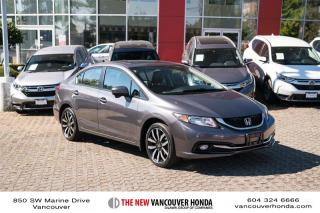 Used 2015 Honda Civic Sedan Touring CVT for sale in Vancouver, BC