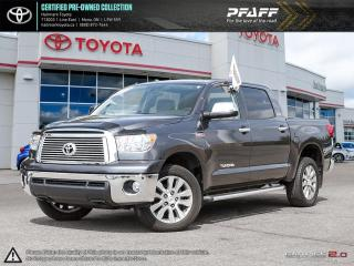 Used 2013 Toyota Tundra 4x4 CrewMax Platinum 5.7 for sale in Orangeville, ON