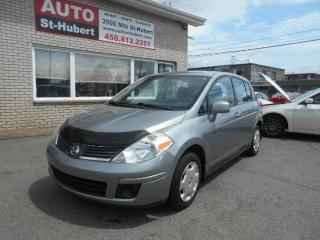 Used 2009 Nissan Versa 1.8S ** 126 000 KM CERTIFIÉ ** for sale in Saint-hubert, QC