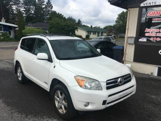 Used 2008 Toyota RAV4 4 roues motrices, 4 cyl.  Limited econo for sale in Levis, QC