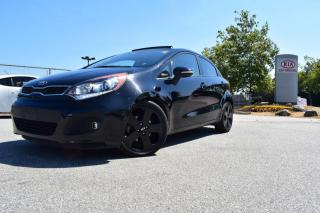 Used 2013 Kia Rio AUTO/PL/PW/LEATHER/ROOF for sale in Quesnel, BC