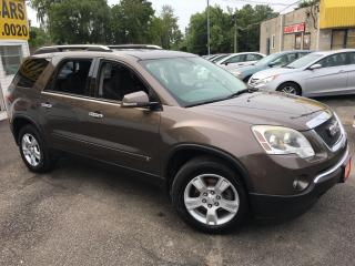 Used 2009 GMC Acadia SLE/ AWD/ 7PASS/ LOADED/ ALLOYS! for sale in Scarborough, ON
