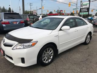 Used 2010 Toyota Camry Hybrid l Bluetooth l Sunroof for sale in Waterloo, ON